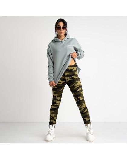 0901 Li Ruo Ya спортивные брюки женские камуфляжные на флисе (5 ед. размеры: универсал 44-48 )  Li Ruo Ya