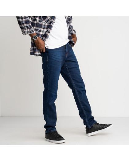 2126 Dsouaviet синие джинсы мужские стрейчевые на флисе (8 ед. размеры: 29.30.31.32.33.34.36.38) Dsouaviet
