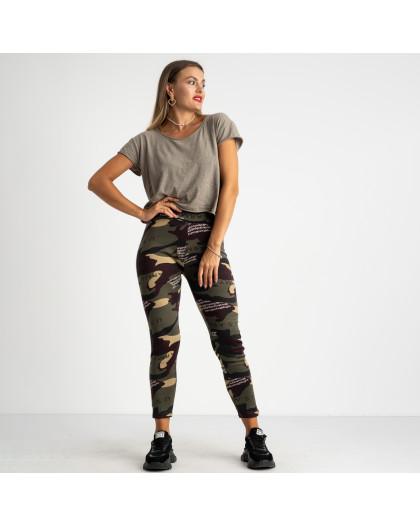 0903 Li Ruo Ya спортивные брюки женские камуфляжные на флисе (5 ед. размер: универсал 44-48)  Li Ruo Ya