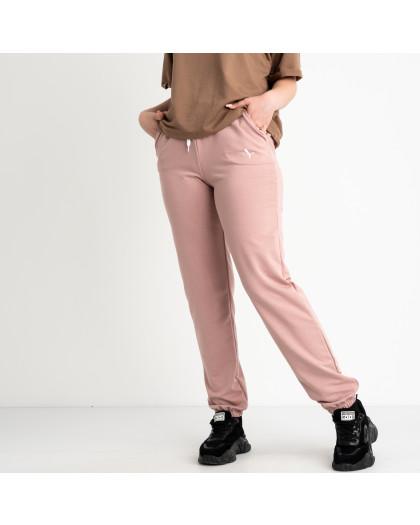 14870-2  Mishely пудра брюки женские спортивные батальные стрейчевые (4 ед. размеры: 50.52.54.56) Mishely
