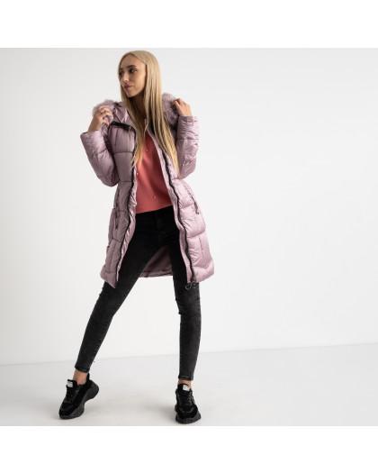1983-5 розовая куртка женская на синтепоне (5 ед.размеры: M.L.XL.2XL.3XL) Куртка