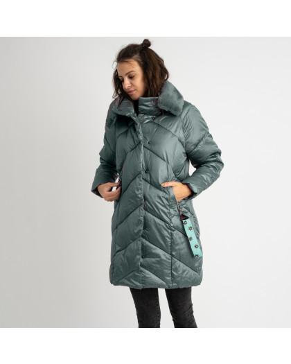 8801-2 хаки куртка женская на синтепоне (4 ед.размеры: M.L.XL.XXL) Куртка