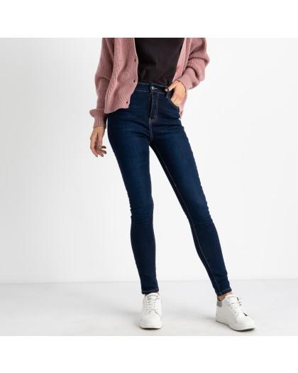 6044 New Jeans американка синяя стрейчевая на байке (6 ед.размеры: 25.26.27.28.29.30) New Jeans