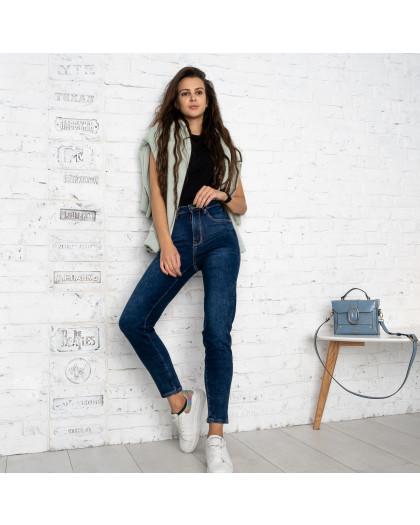 0956-5 D Relucky джинсы-слоучи на байке синие стрейчевые (6 ед.размеры: 25.26.27.28.29.30) Relucky