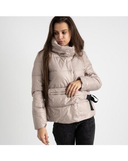 0887-3 мокко куртка женская на синтепоне (4 ед. размеры: M.L.XL.2XL) Куртка