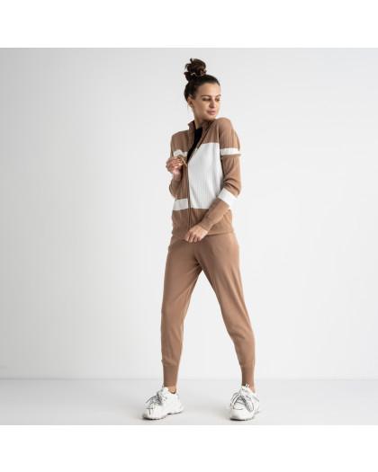 1601-3 M.K.Store мокко спортивный костюм женский (3 ед.размеры: универсал 44-48) M.K.Store