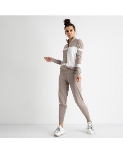 1601-2 M.K.Store серый спортивный костюм женский (3 ед.размеры: универсал 44-48) M.K.Store