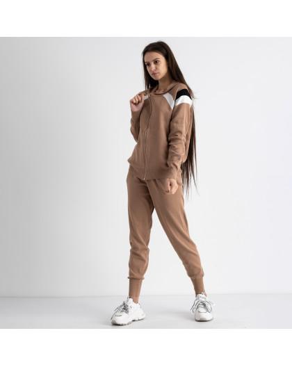 1602-2 M.K.Store мокко спортивный костюм женский (3 ед.размеры: универсал 44-48) M.K.Store