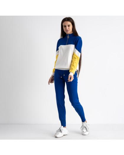 2105-3 M.K.Store синий спортивный костюм женский (3 ед.размеры: универсал 44-48) M.K.Store