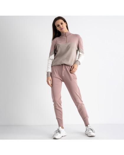 2105-2 M.K.Store розовый спортивный костюм женский (3 ед.размеры: универсал 44-48) M.K.Store