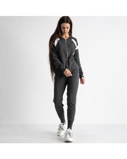 1602-1 M.K.Store серый спортивный костюм женский (3 ед.размеры: универсал 44-48) M.K.Store