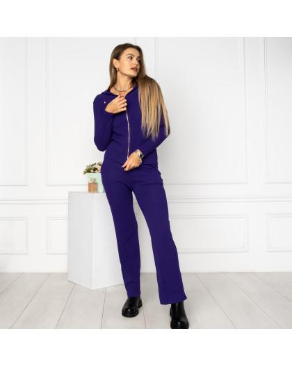 2112-1 M.K.Store фиолетовый спортивный костюм женский (3 ед.размеры: универсал 44-48) M.K.Store