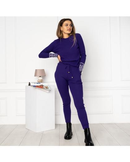 2109-1 M.K.Store фиолетовый спортивный костюм женский (3 ед.размеры: универсал 44-48) M.K.Store