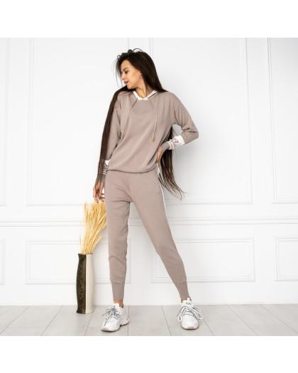 1611-2 M.K.Store серый спортивный костюм женский (3 ед.размеры: универсал 44-48) M.K.Store