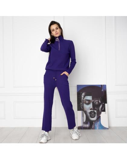 2007-1 M.K.Store фиолетовый спортивный костюм женский (3 ед.размеры: универсал 44-48) M.K.Store