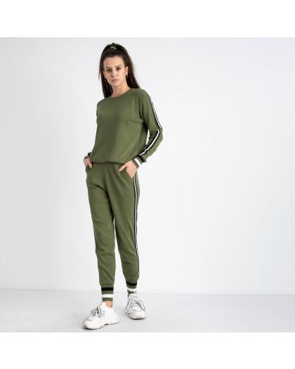 1603-3 M.K.Store зеленый спортивный костюм женский (3 ед.размеры: универсал 44-48) M.K.Store