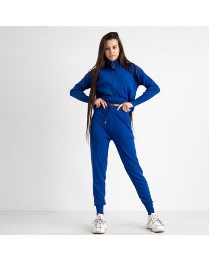 1616-1 M.K.Store синий спортивный костюм женский (3 ед.размеры: универсал 44-48) M.K.Store