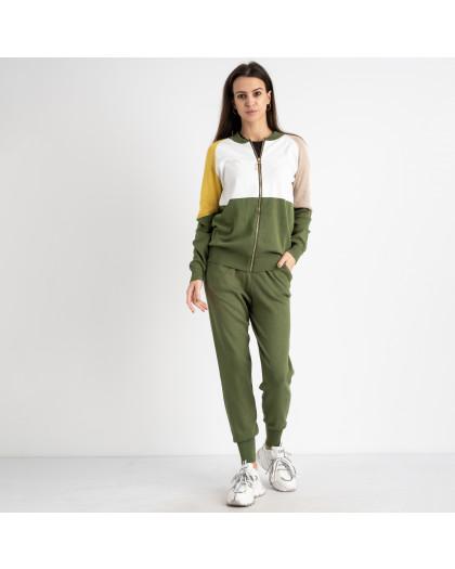 1605-1 M.K.Store желто-зеленый спортивный костюм женский (3 ед.размеры: универсал 44-48) M.K.Store