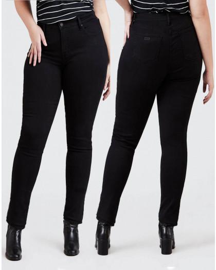 3509 New jeans американка батальная на флисе зимняя стрейчевая (31,32-2, 3 ед.) New Jeans