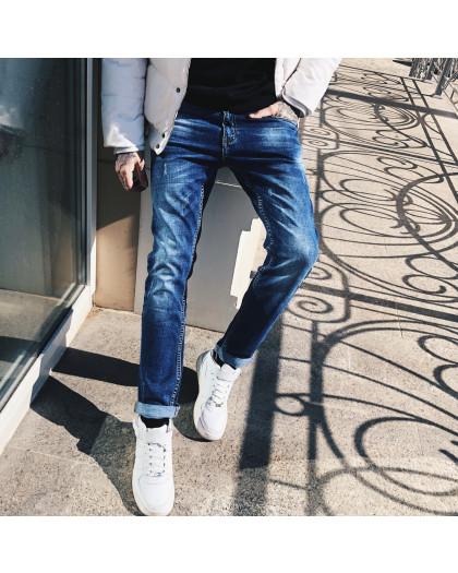 8005 Resalsa джинсы мужские молодежные с царапками весенние стрейчевые (27-2,28-2,29-2,30, 7 ед.) Resalsa
