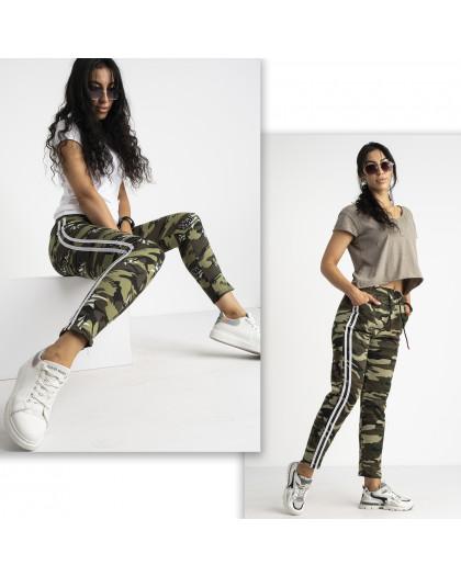 0902-01 Li Ruo Ya спортивные брюки женские камуфляжные на флисе микс 2-х моделей (5 ед. размер: универсал  44-48) Li Ruo Ya