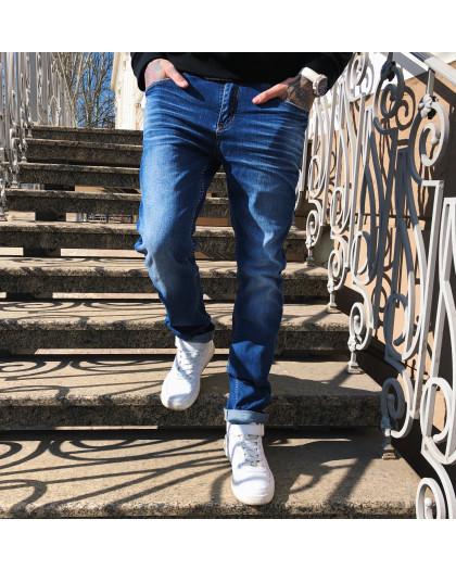8039 Resalsa джинсы мужские с теркой весенние стрейчевые (29-2,30-2,31-2,33,34, 8 ед.) Resalsa
