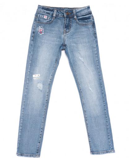 0097 Little Star джинсы на девочку синие весенние стрейчевые (23-28, 6 ед.) Little Star