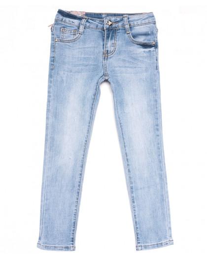 0088 Miss Happy джинсы на девочку синие весенние стрейчевые (23-28, 6 ед.) Miss Happy