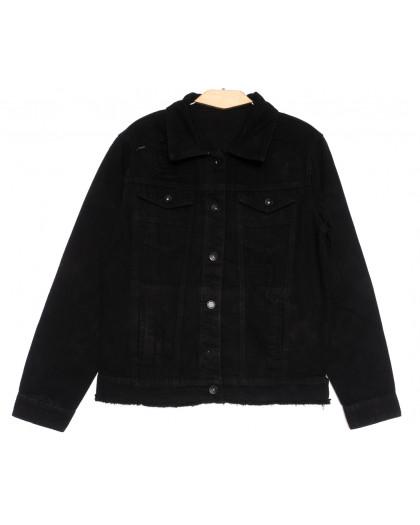 0817 New Jeans куртка джинсовая мужская черная весенняя коттоновая (S-XXL, 6 ед.) New Jeans