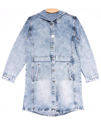 0815 New Jeans куртка джинсовая женская синяя весенняя коттоновая (XS-XXL, 6 ед.) New Jeans