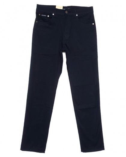 9006-В LS джинсы мужские полубатальные темно-синие весенние стрейчевые (32-40, 8 ед.) LS