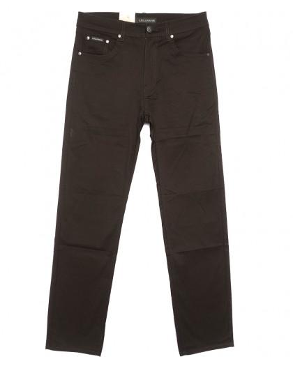 9022 LS джинсы мужские коричневые весенние стрейчевые (31-38, 8 ед.) LS