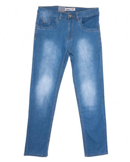 1092-D LS джинсы мужские полубатальные синие весенние стрейчевые (32-42, 8 ед.) LS