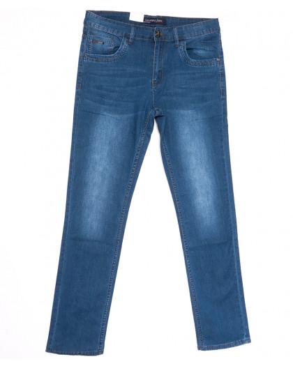 1072 LS джинсы мужские полубатальные синие весенние стрейчевые (32-38, 8 ед.) LS