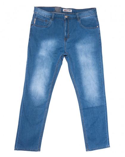 1098-ТD LS джинсы мужские батальные синие весенние стрейчевые (40-50, 6 ед.) LS