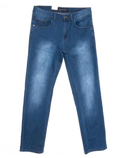 1079 LS джинсы мужские полубатальные синие весенние стрейчевые (32-42, 8 ед.) LS