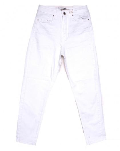0904 MJS мом белый весенний стрейчевый (25-32, 8 ед.) MJS