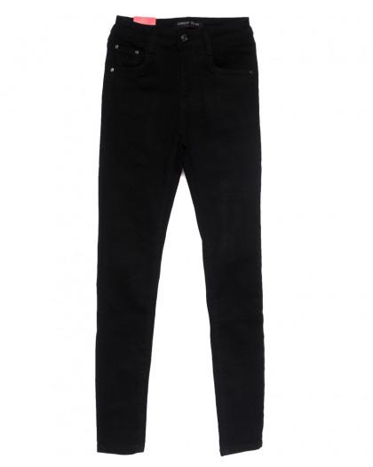5206 Forest Jeans американка черная осенняя стрейчевая (25-30, 6 ед.) Forest Jeans