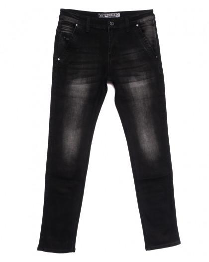 1503 Bagrbo джинсы мужские молодежные темно-серые осенние стрейчевые (28-36, 8 ед.) Bagrbo