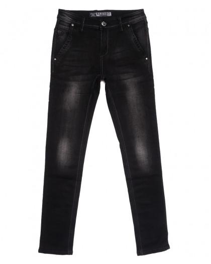 1501 Bagrbo джинсы мужские молодежные темно-серые осенние стрейчевые (27-34, 8 ед.) Bagrbo