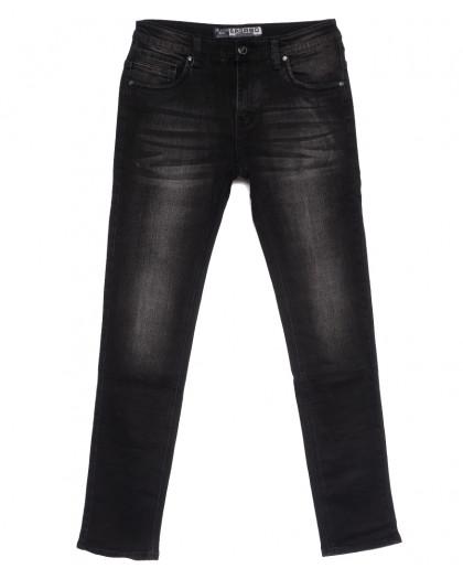 1502 Bagrbo джинсы мужские молодежные темно-серые осенние стрейчевые (28-36, 8 ед.) Bagrbo