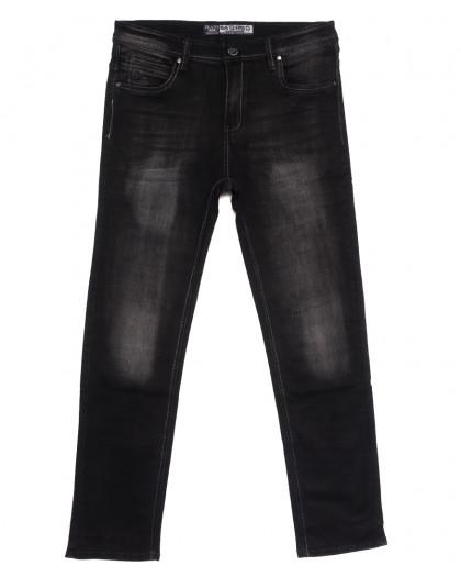 1509 Bagrbo джинсы мужские полубатальные темно-серые осенние стрейчевые (32-38, 8 ед.) Bagrbo