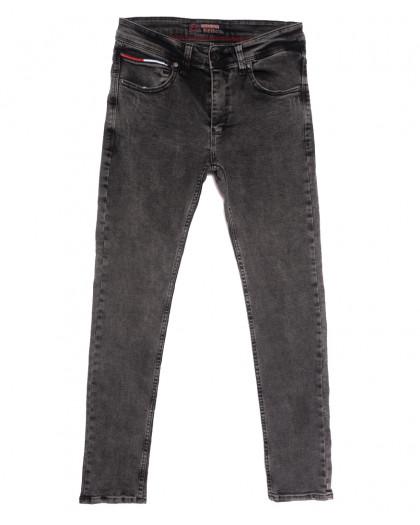 6909 Fashion Red джинсы мужские с царапками серые осенние стрейчевые (29-36, 8 ед.) Fashion Red