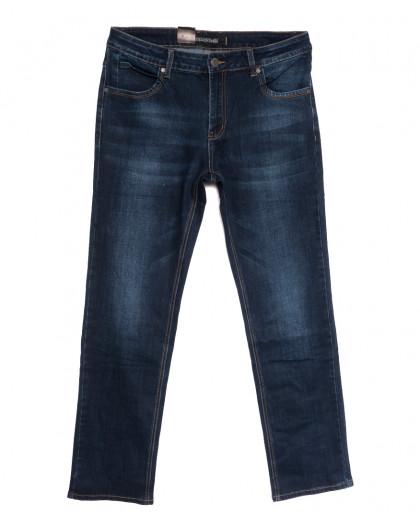 9412 God Baron джинсы мужские батальные синие осенние стрейчевые (34-44, 8 ед.) God Baron