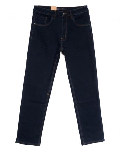 1041 LS джинсы мужские полубатальные темно-синие осенние стрейчевые (32-38, 8 ед.) LS