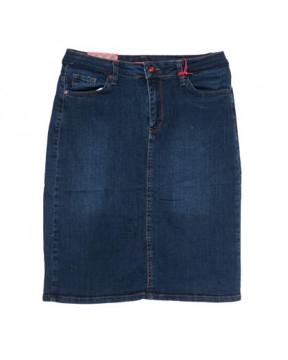 0574 Redmoon юбка джинсовая батальная синяя осенняя стрейчевая (30-36, 6 ед.) REDMOON
