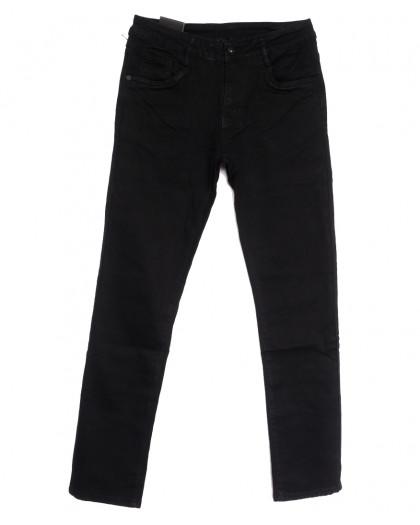 20002-2 Viman джинсы мужские черные осенние стрейчевые (30-38, 8 ед.) Viman