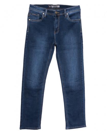 1615 Bagrbo джинсы мужские полубатальные синие осенние стрейчевые (32-38, 8 ед.) Bagrbo