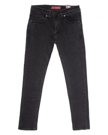 7079 Destry джинсы мужские зауженные серые осенние стрейчевые (29-36, 8 ед.) Destry