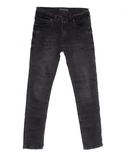 6894 Destry джинсы мужские полубатальные серые осенние стрейчевые (32-40, 8 ед.) Destry